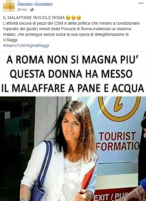 virginia raggi malaffare roma twitter - 3