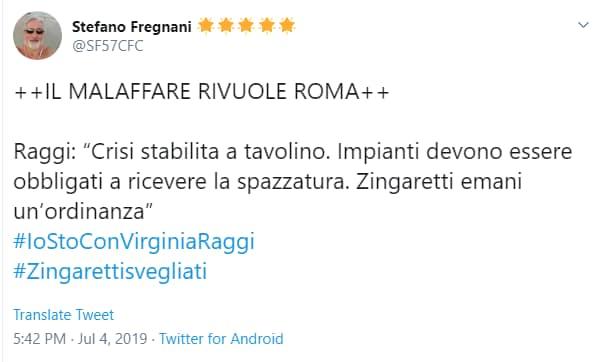 virginia raggi malaffare roma twitter - 7
