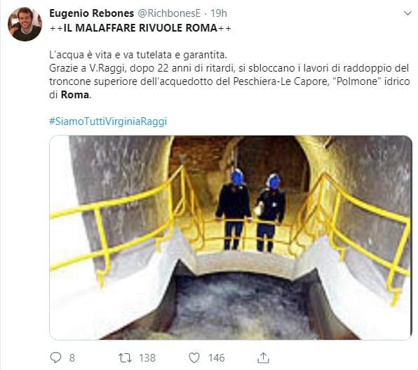 virginia raggi malaffare roma twitter - 8