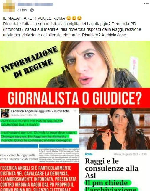 virginia raggi malaffare roma twitter - 9
