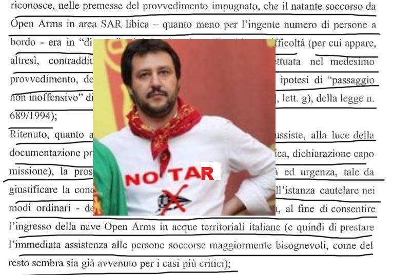 Leonardo Pasanisi tar del lazio open arms