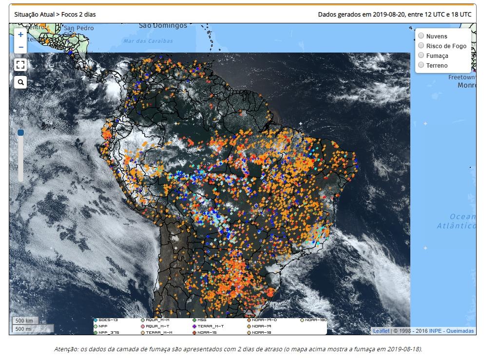 amazzonia incendi foresta amazzonica -1