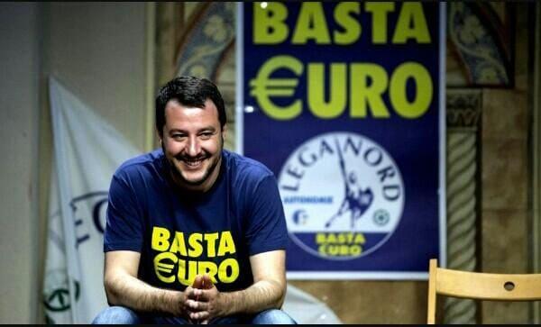 bagnai no euro salvini conte governo - 4