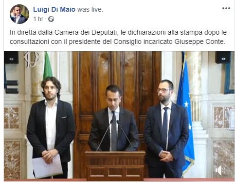 Conte bis, Di Maio gela il PD: