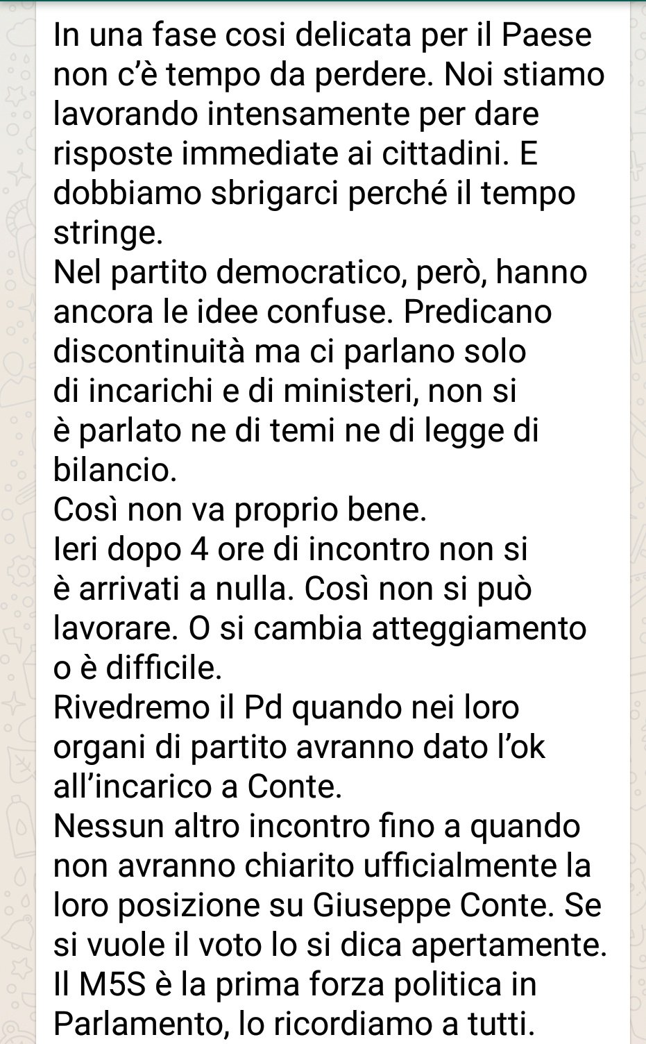 governo m5s-pd