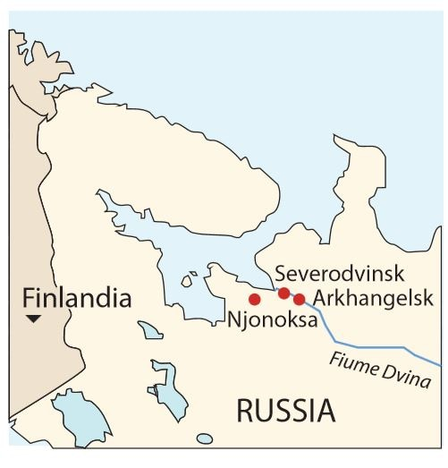 incidente nucleare russia severodvinsk