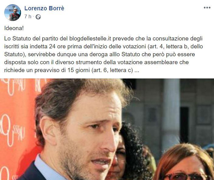 lorenzo borré
