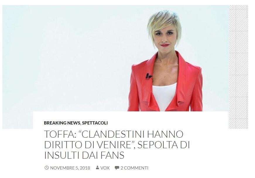 nadia toffa voxnews