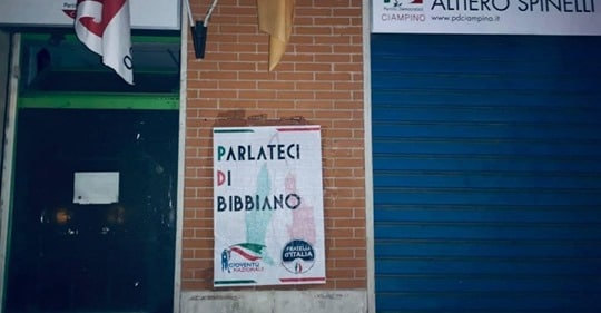 pd fratelli d'italia bibbiano