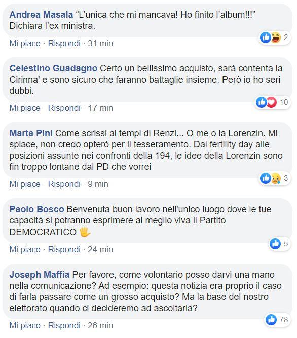 beatrice lorenzin pd