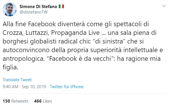 casapound ban facebook rosicata - 3