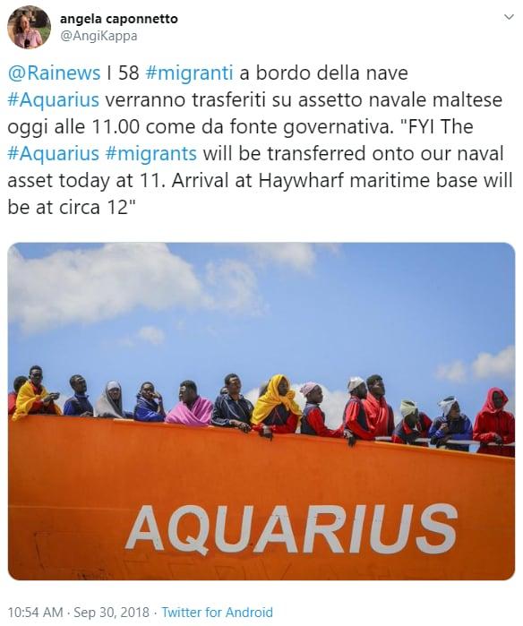 conte salvini redistribuzione migranti - 2