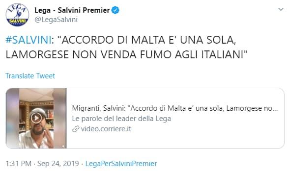 conte salvini redistribuzione migranti - 6