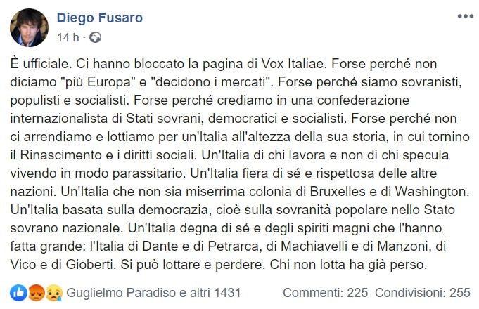 diego fusaro vox italia