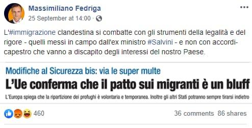 fedriga lamorgese migranti rotta balcanica -1