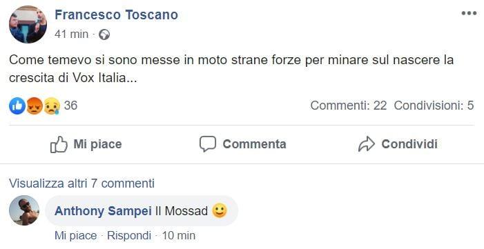 francesco toscano vox italia