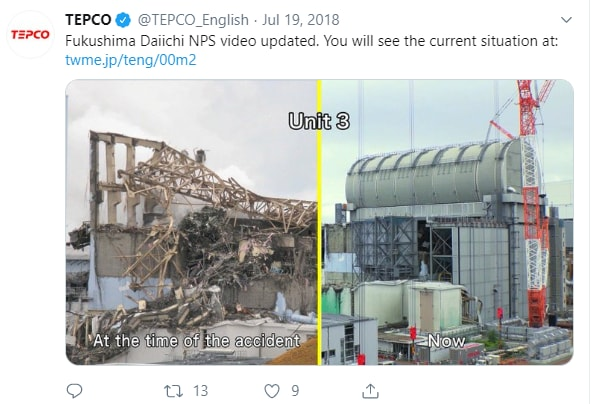 Non scaricate nell'oceano l'acqua radioattiva di Fukushima Daiichi — Greenpeace Japan