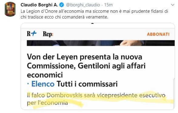 Commissione Ue: Gentiloni è il nuovo commissario agli Affari economici