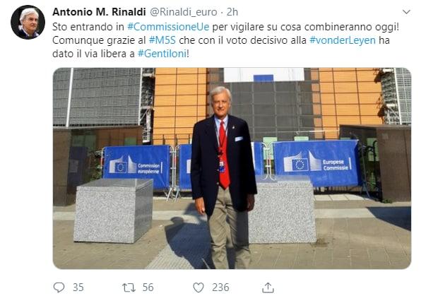 gentiloni commissario europeo - 5