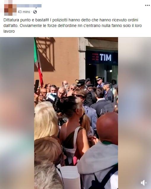 montecitorio manifestazione lega salvini fdi - 6
