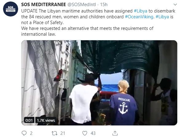 ocean viking decreto sicurezza conte bis -1