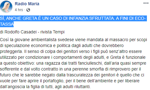 radio maria greta fridays for future -4