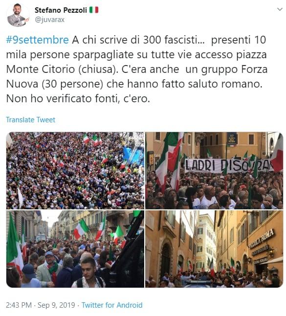 saluti fascisti roma salvini meloni montecitorio fake - 3