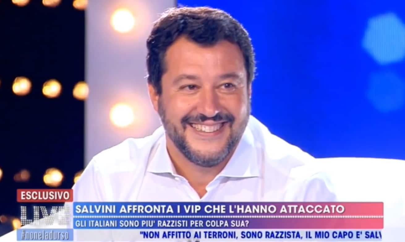 Matteo Salvini: scontri, difese e attacchi a Live-Non è la d'Urso