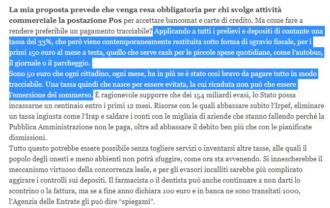 salvini tassa contanti prelievi bancomat confindustria -2