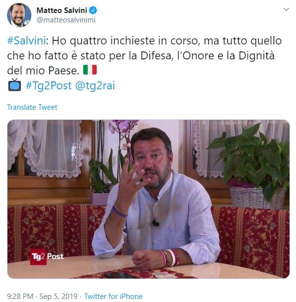 Caporedattore di Radio1 inveisce con violenza contro Salvini: