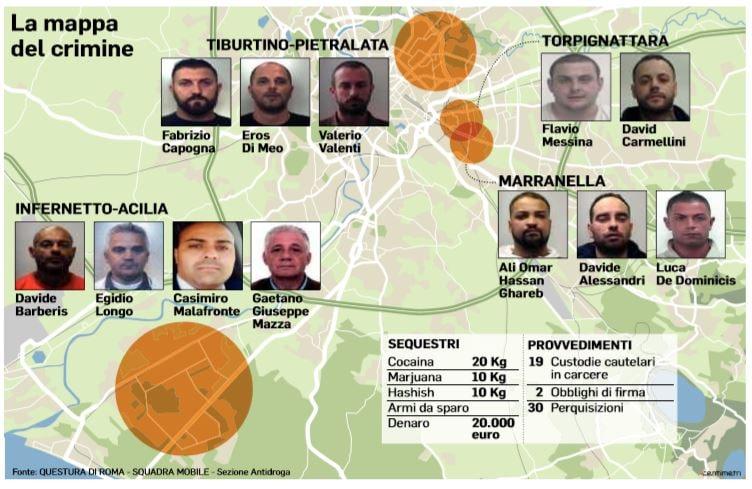 spacciatori roma diabolik piscitelli