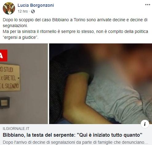 borgonzoni sistema bibbiano tribunali dei minori - 1