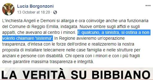 borgonzoni sistema bibbiano tribunali dei minori - 2
