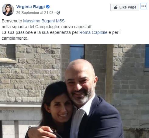 bugani raggi comune roma - 2