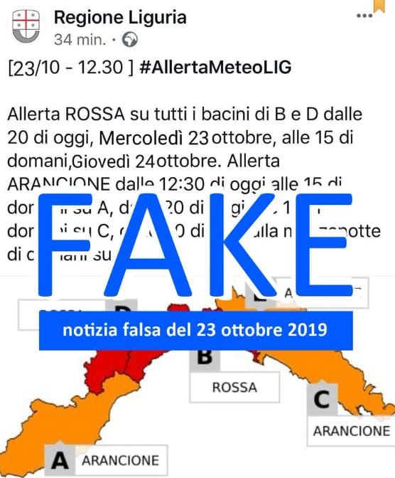fake news allerta rossa liguria - 4