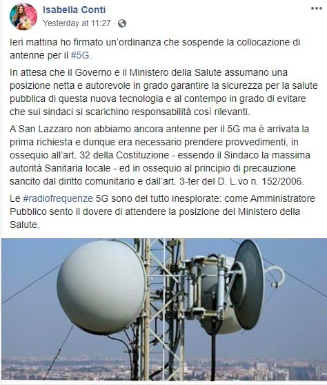 isabella conti renzi italia viva 5G- 1