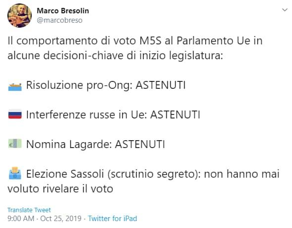 m5s parlamento europeo ago della bilancia - 2