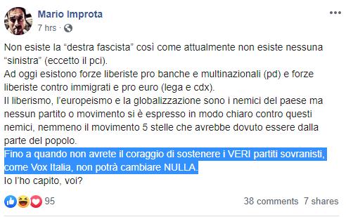 mario improta fusaro vox italia -1