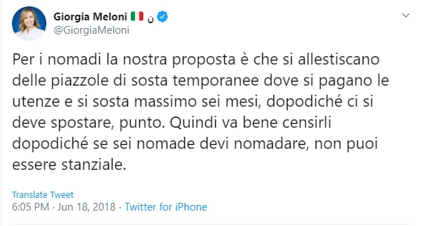 meloni francesco merlo polemica - 3
