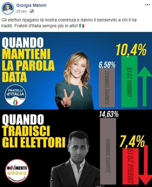 meloni umbria coerenza fratelli d'italia arresti - 3