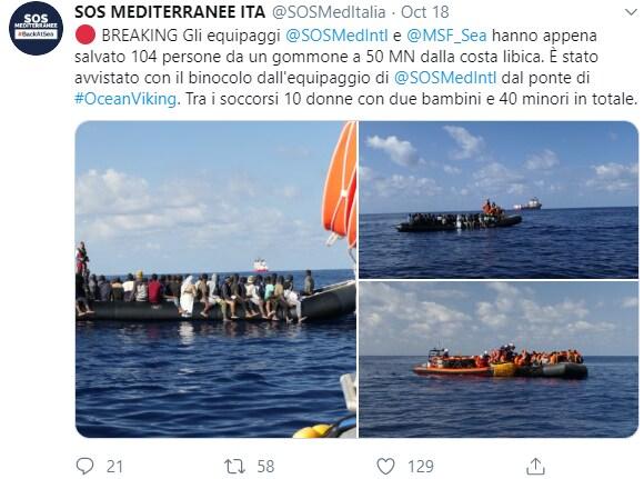 ocean viking 104 migranti sbarco - 3
