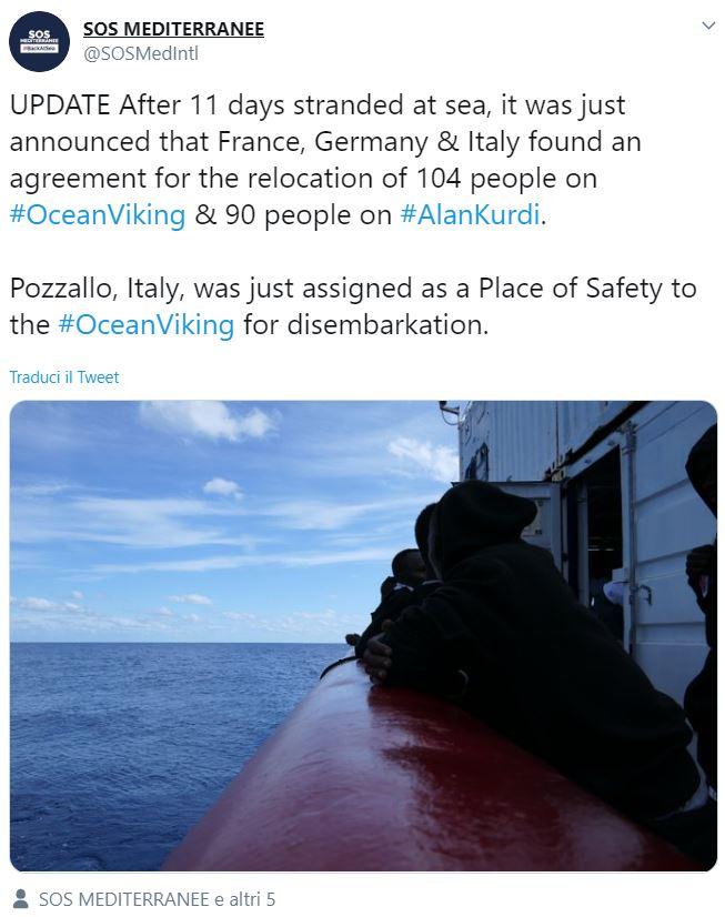 ocean viking pozzallo