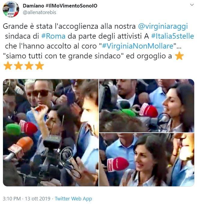 rissa virginia raggi italia 5 stelle filippo roma