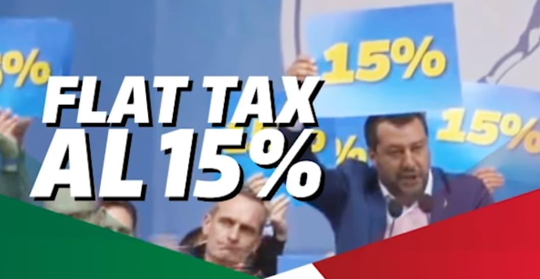 salvini flat tax conte bis - 2