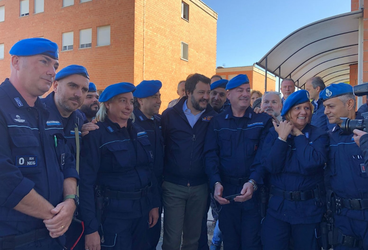 salvini penitenziaria torino arrestati - 3