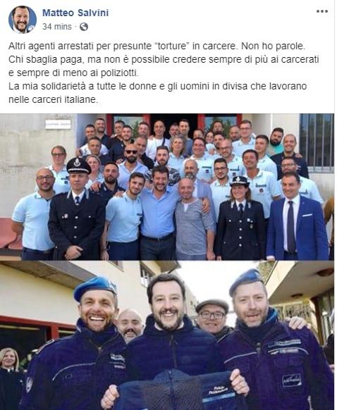 salvini penitenziaria torino arrestati - 4
