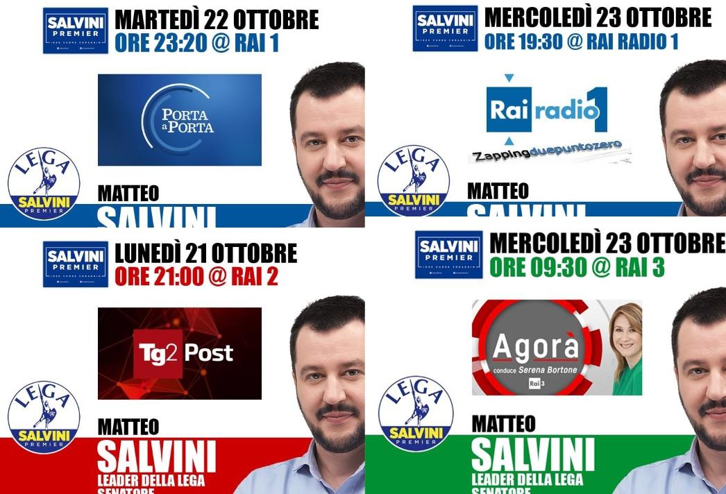salvini report par condicio - 1