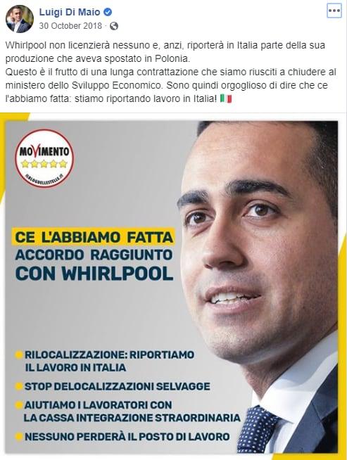 whirlpool napoli di maio - 1