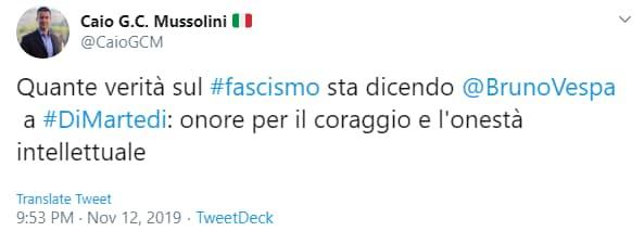 caio mussolini vespa fascismo - 1
