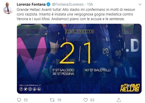 lorenzo fontana verona segre hellas razzismo -1
